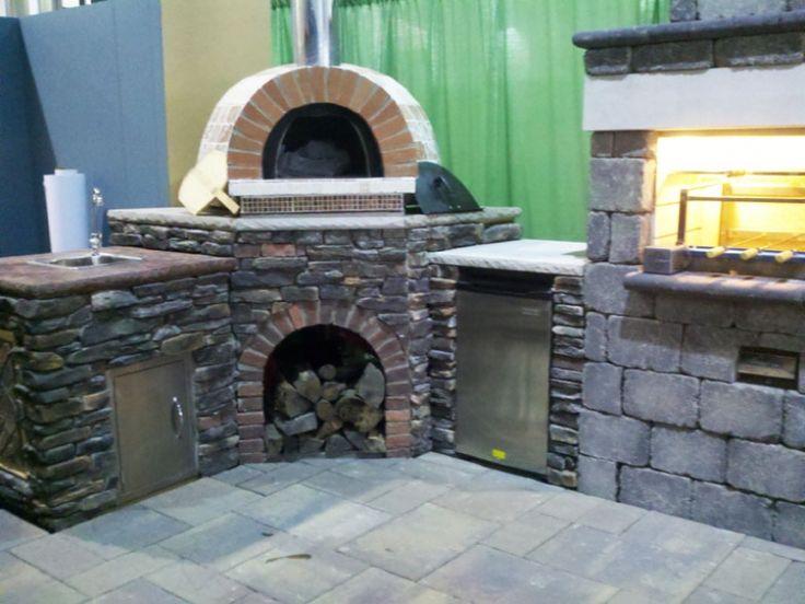 Die besten 25+ Pizza oven outside Ideen auf Pinterest Außengrill - pizzaofen mit grill
