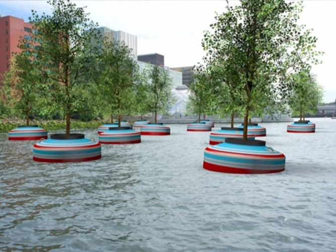 0 | This Forest Will Grow Floating In Rotterdam's Harbor | Co.Exist | ideas + impact