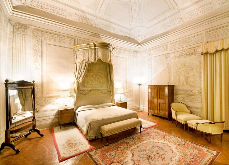 I think I'll have a bedroom like this in my, you know, Italian villa.