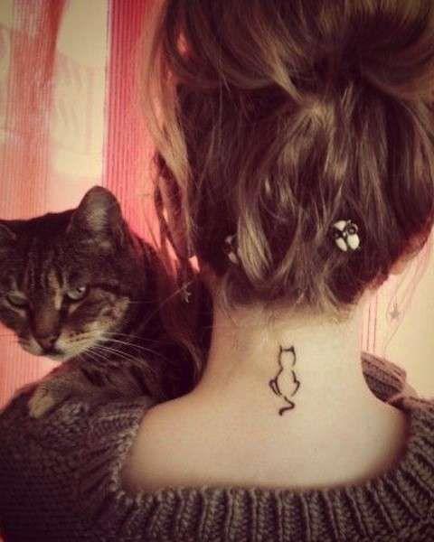 Tatuaggi con gatti  (Foto 40/40) | PourFemme
