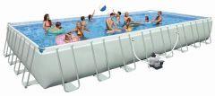 INTEX Swimming Pool Ultra-Frame 975x488x132 cm 28372