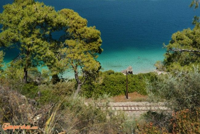 Greece, Peloponnese, Diakofto