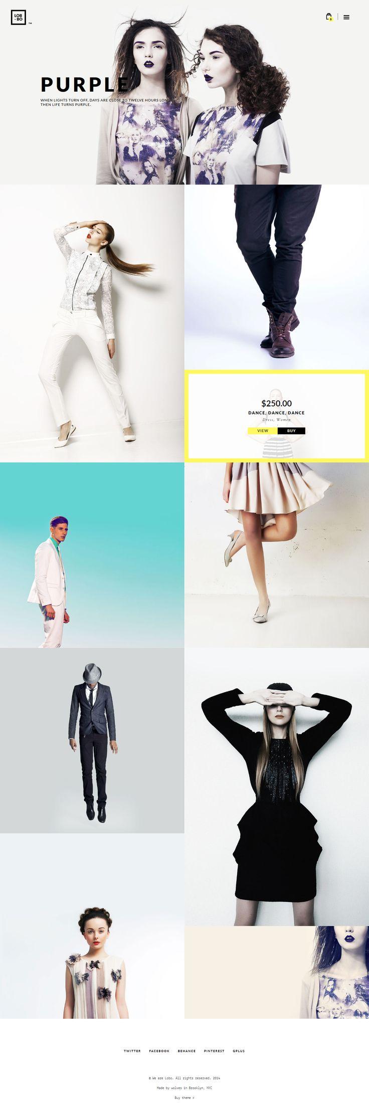 Web Design Inspiration - Graphic Design Inspiration - Portfolio - Image Gallery - Fashion
