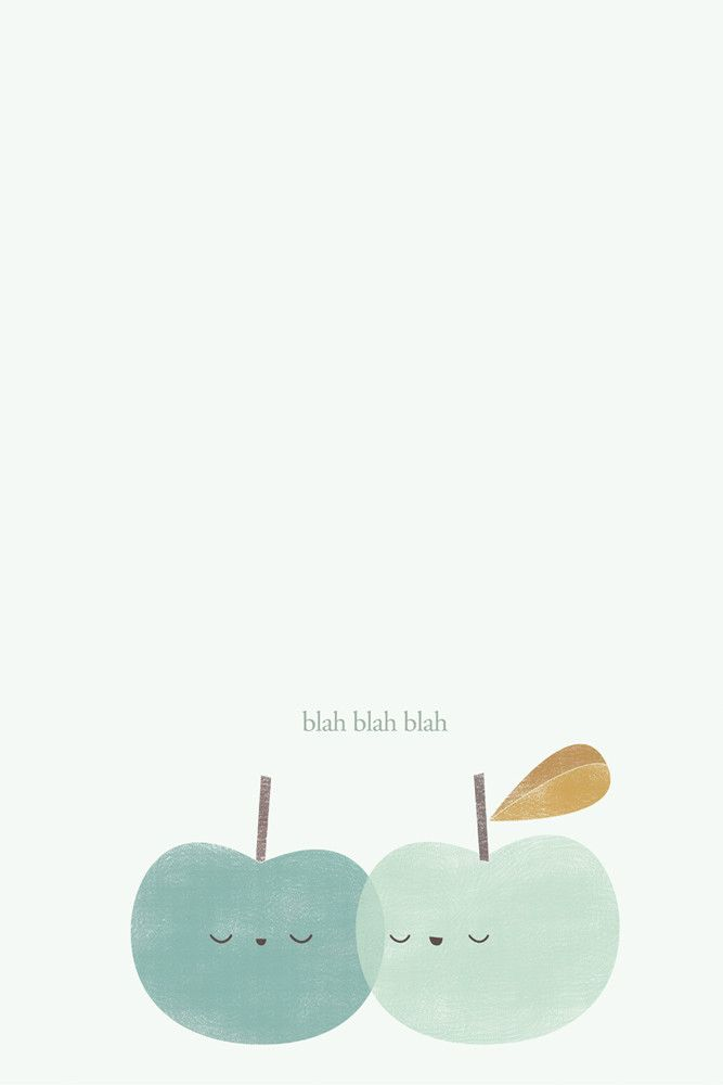 POSTER TALKING APPLES - APANONA