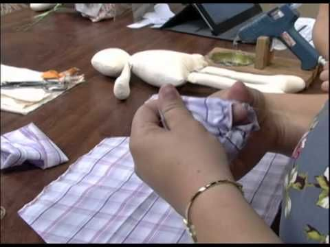 Mulher.com 22/08/2012 - Boneca de pano 1/2 - YouTube