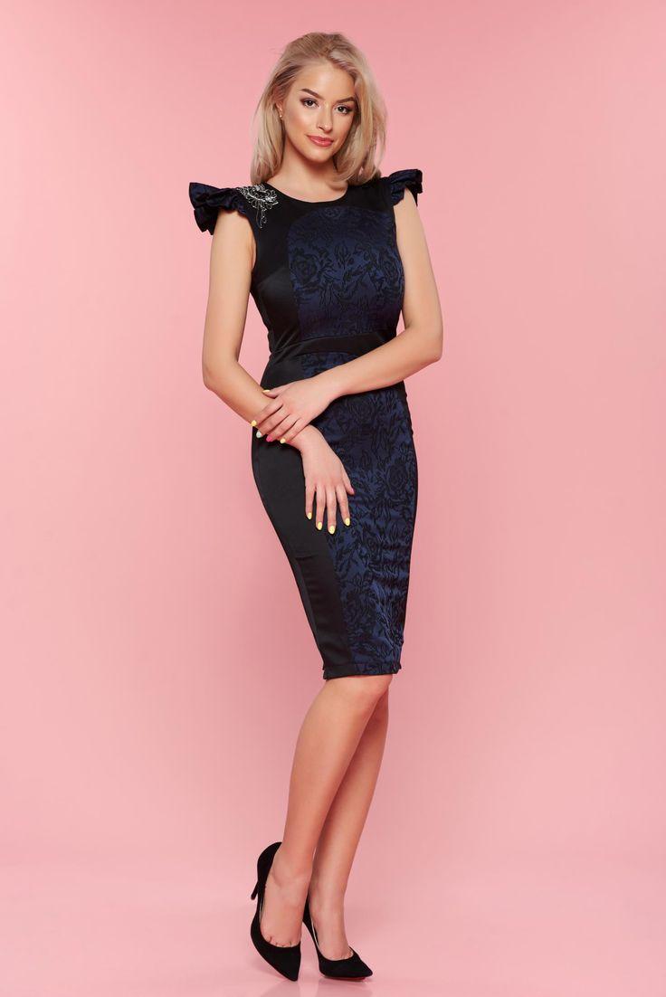Comanda online, Rochie StarShinerS Finest Black. Articole masurate, calitate garantata!