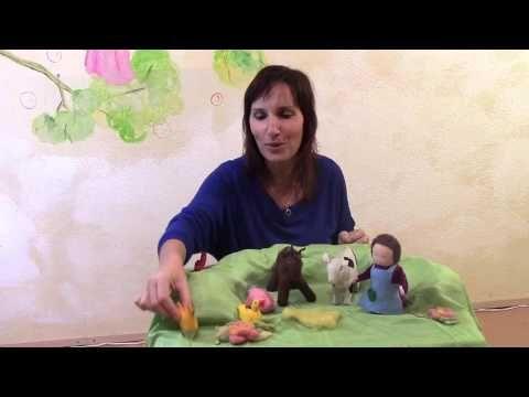 """""""La Gallinita"""" para narrar y jugar - Voz y Movimiento"""