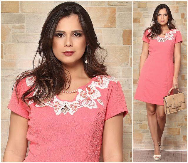 Rosas Confecções: Queridinhos do verão, o vestido com aplicações de ...