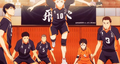 Karasuno High School volleyball club