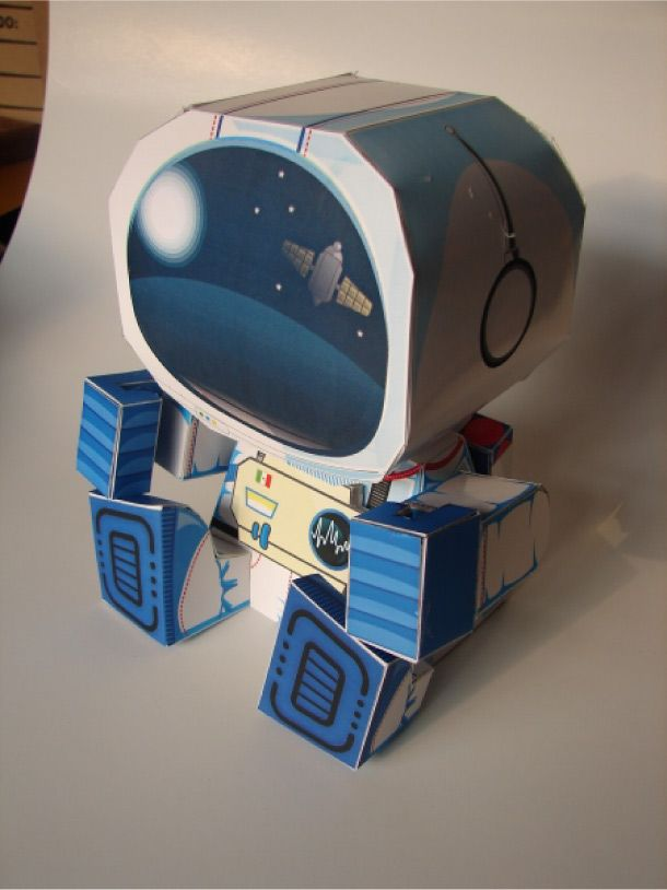 Blog Paper Toy papertoy Stars Finder Arturo pic face Mission Paper Toy avec Stars Finder