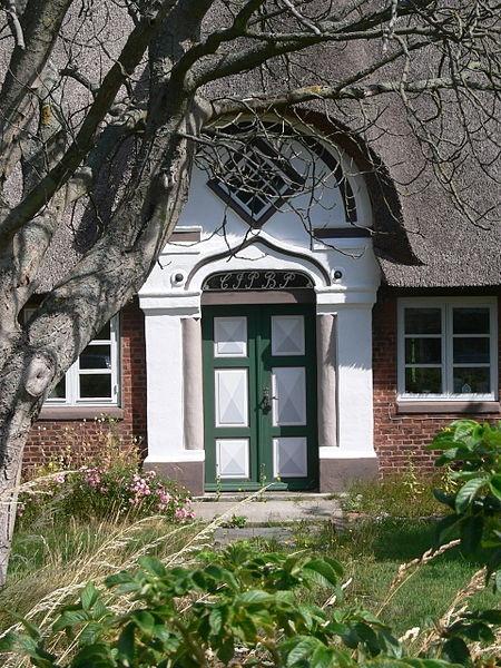 Rømø. Typical door ~ Denmark