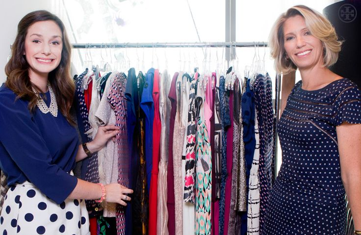 Lucky Magazine's editor-in-chief and her assistant - love their clothes