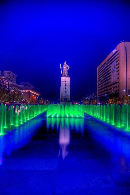 Gwanghwamun Plaza,korea,
