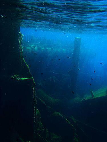 Shipwreck, Pelješac, Croatia