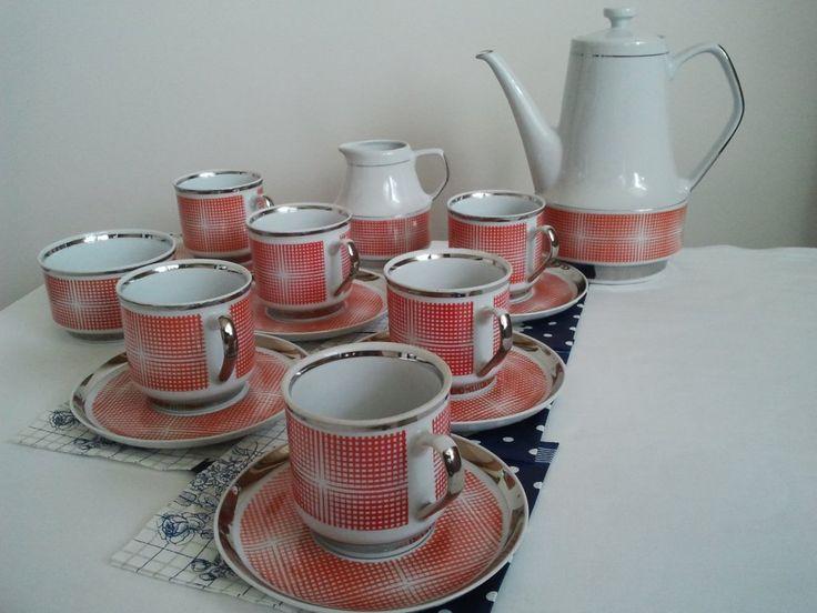Porcelana CHODZIEŻ komplet kawowy 6 osób 15szt (6246080262) - Allegro.pl - Więcej niż aukcje.