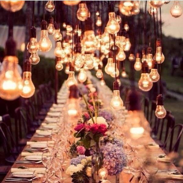 Lampade, lanterne e candele per un matrimonio suggestivo e indimenticabile!!