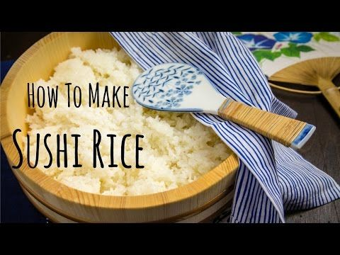 Simple instruction on how to make sushi rice with kombu, rice vinegar, sugar, and salt. For the complete recipe: http://www.justonecookbook.com/how-to/how-to...