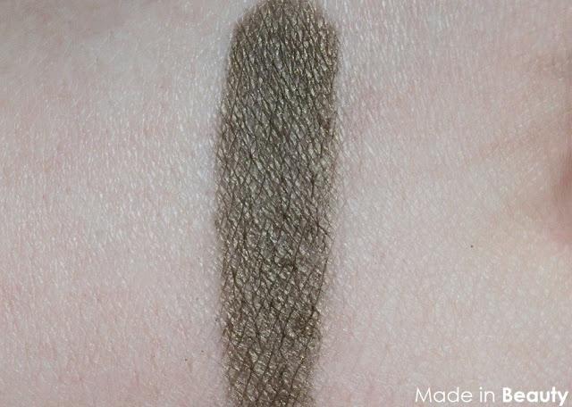 ZAO ásványi selyempor minták   Arany-zöld @ Made in Beauty