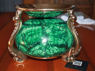 semiprecious stones objiects for your home.HANDCRAFT.