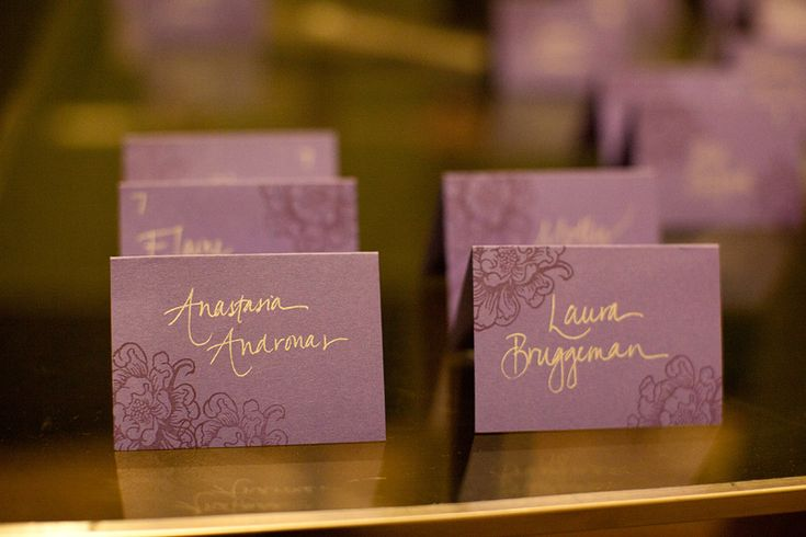 Modern Purple Pittsburgh Wedding