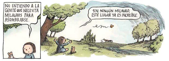 los milagros en las pequeñas cosas
