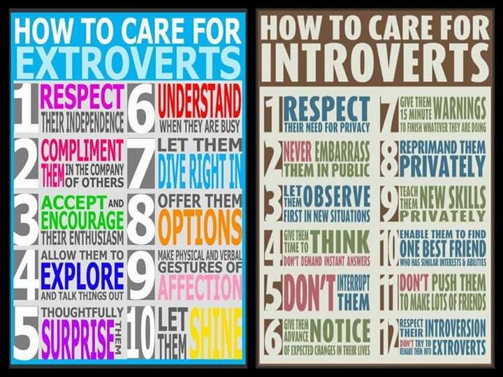 Extroverts vs Introverts https://www.facebook.com/lawatwork?fref=ts