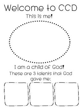 Little Miss Catechist First Day Of CCD, Catechism, Sunday School Lesson, For Kids