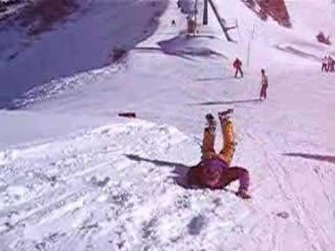 Backwards snowworm - YouTube