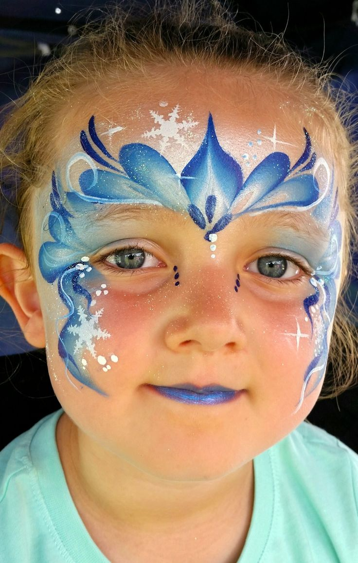 17 best ideas about frozen face paint on pinterest for Frozen face paint