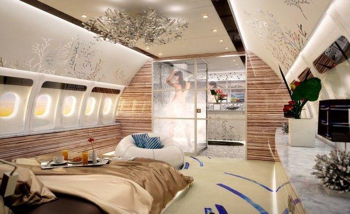 Interiors of luxury planes - Google Search