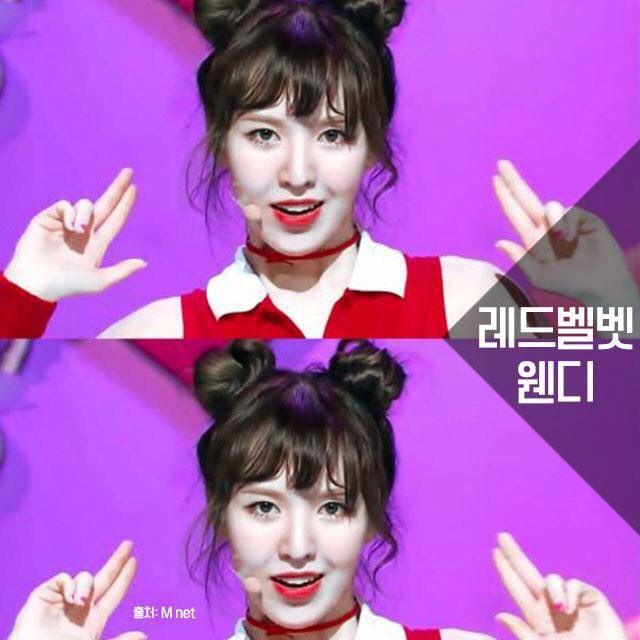 Space Buns Wendy Korean Hairstyle Wendy Red Velvet Red Velvet