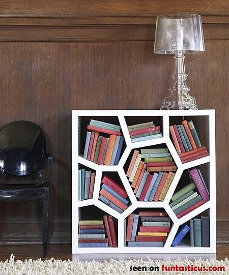 """This would be perfect for her since she can't seem to ever put the books back """"properly"""" on our regular shelves :)"""
