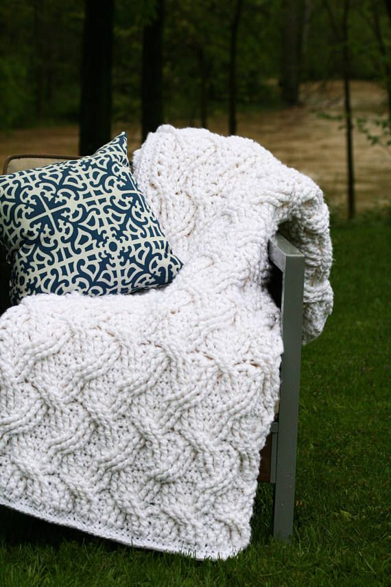 Crochet Afghan Pattern, The Hudson Afghan Pattern, Crochet Pattern ...
