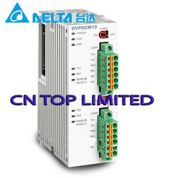 DVPSCM12-SL Delta PLC RS-485 RS-422 serial communication module new in box