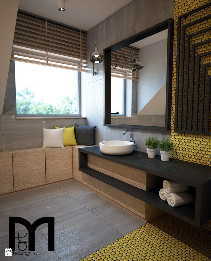Łazienka styl Nowoczesny - zdjęcie od Mart-Design Architektura Wnętrz - Łazienka - Styl Nowoczesny - Mart-Design Architektura Wnętrz