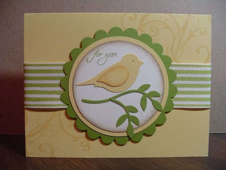 clean & simple card..... would look great in any color and could be used for many different occasions!
