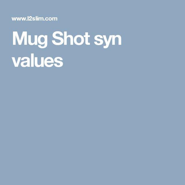 Mug Shot syn values