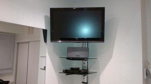 c n connections gallery decor inspiring corner tv wall mount wall mounted tv corner tv. Black Bedroom Furniture Sets. Home Design Ideas