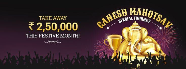 Participate in Ganesh Mahotsav Special Tourney to Win Rs.2,50,000!  https://www.classicrummy.com/ganesh-mahotsav-special-tournament?link_name=CR-12  #ganeshchaturthi #rummy #classicrummy #onlinerummy #rummygames #Indianrummy #ganeshmahotsav #rummytourney #rummytournament #specialtourney