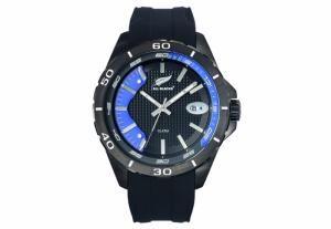 Montre Homme All Blacks 680285 Bracelet en Silicone Noir