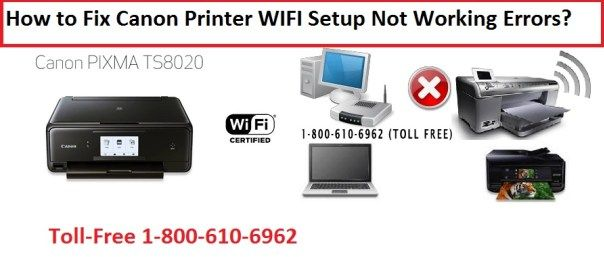 1-800-237-4319 How to Fix Canon Printer WIFI Setup