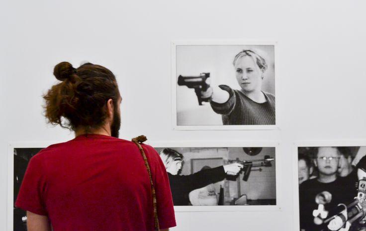 Inauguración de la exposición Presentación/Representación. Fotografía alemana contemporánea. Abierta desde el 12 de febrero hasta el 22 de abril de 2015.