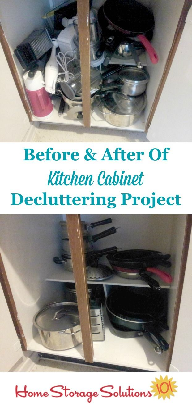 how to declutter kitchen cabinets home storage solutions