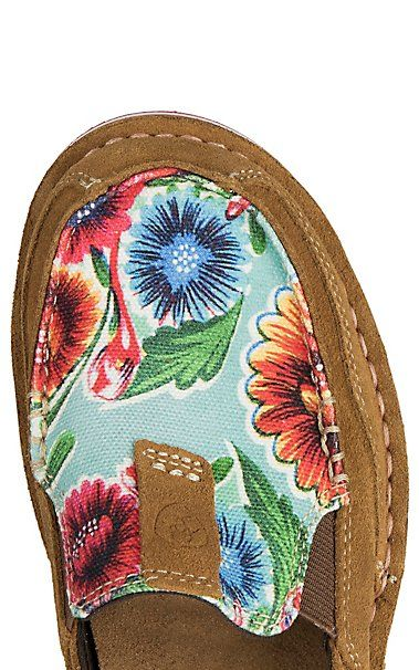 0de46ef7b01a6b Ariat Women s Brown Floral Print Cruiser Casual Shoe in 2019