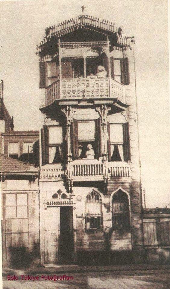 Kamtocu Şamran Hanımın Şişli 'de ki evi .. 1923