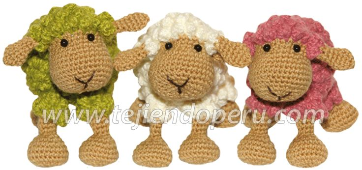 Tutorial: oveja amigurumi (crochet sheep)