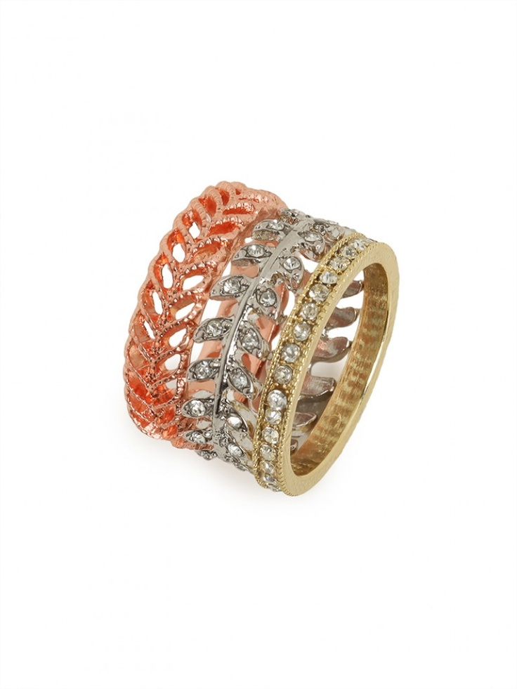 our texture ring trio!
