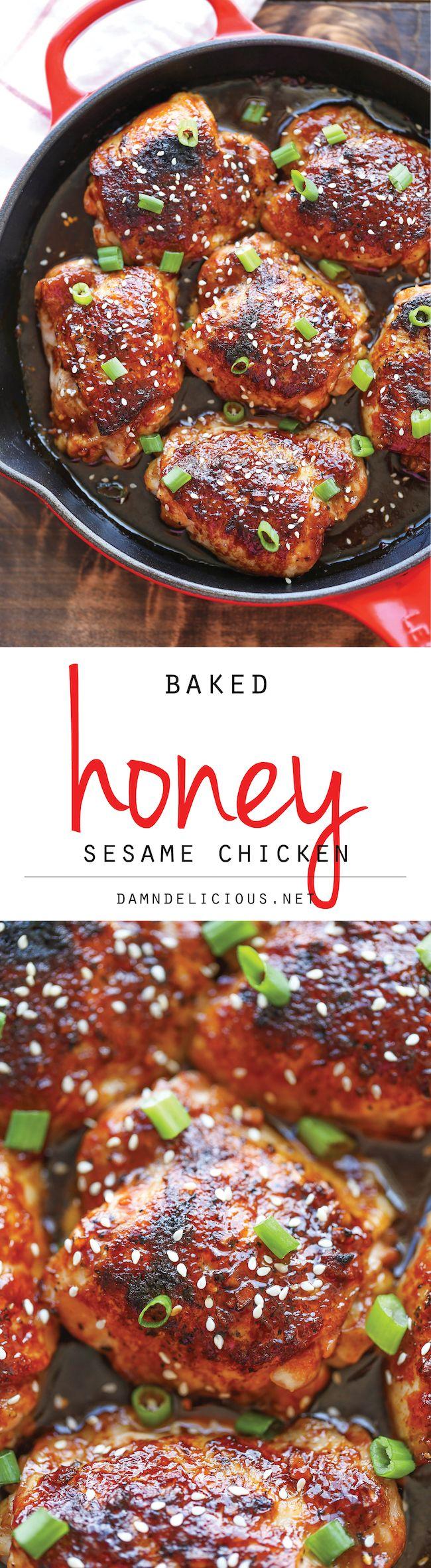 Honey Sesame Chicken ⭐️⭐️⭐️⭐️⭐️