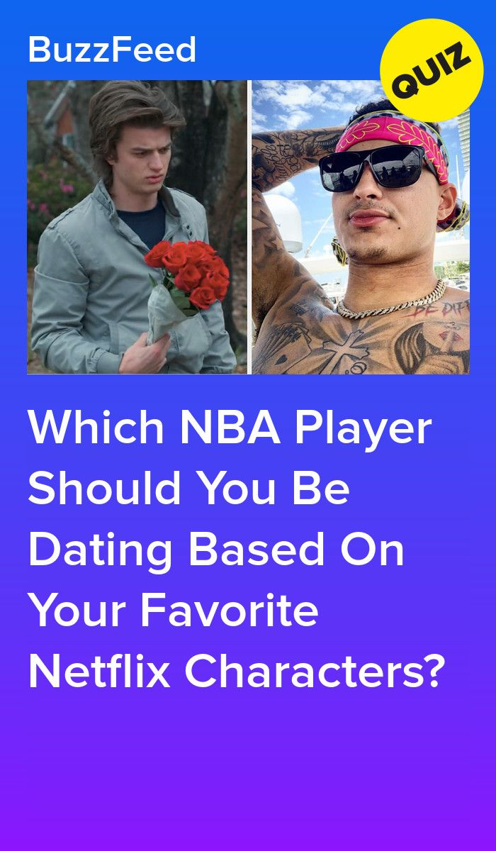 Choose Your Favorite Netflix Characters And We Ll Give You An Nba Player To Netflix And Chill With Nba Players Nba Summer Playlist