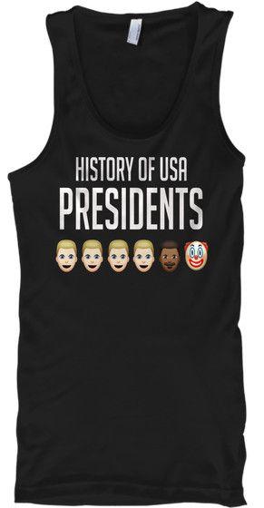 History Of USA Presidents Funny Clown